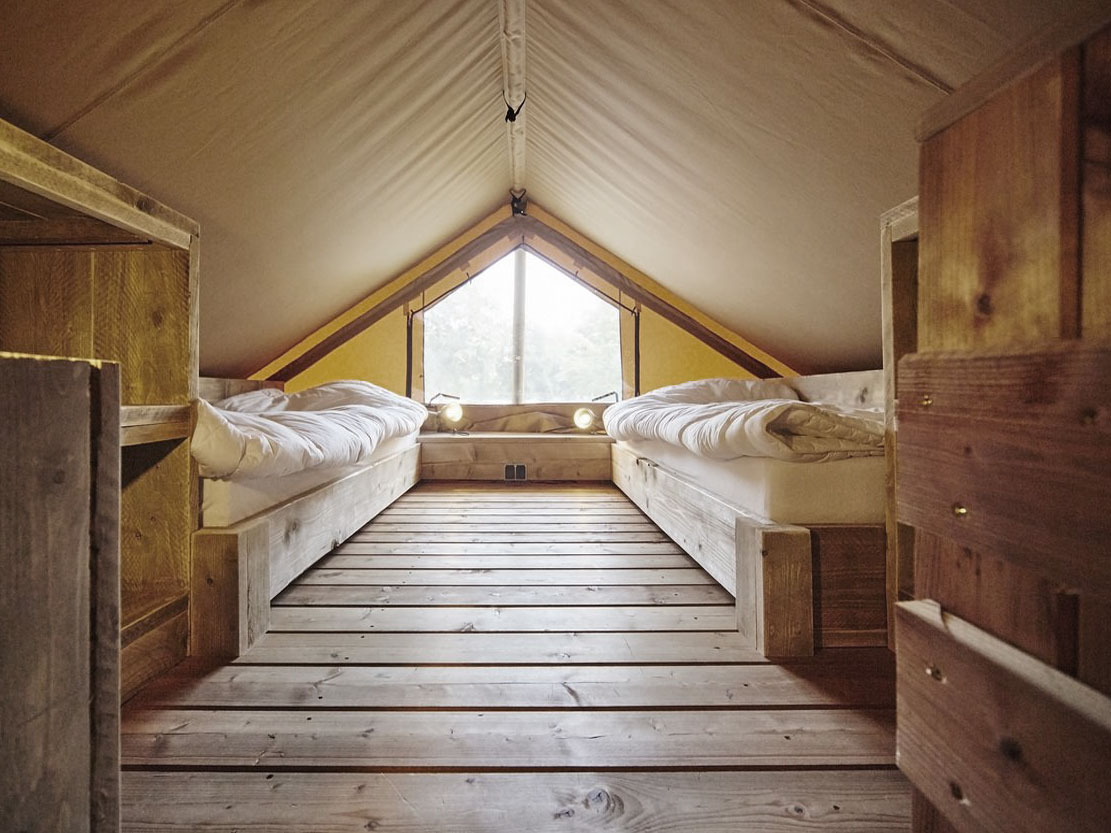 Grand Safari Tent Bedroom