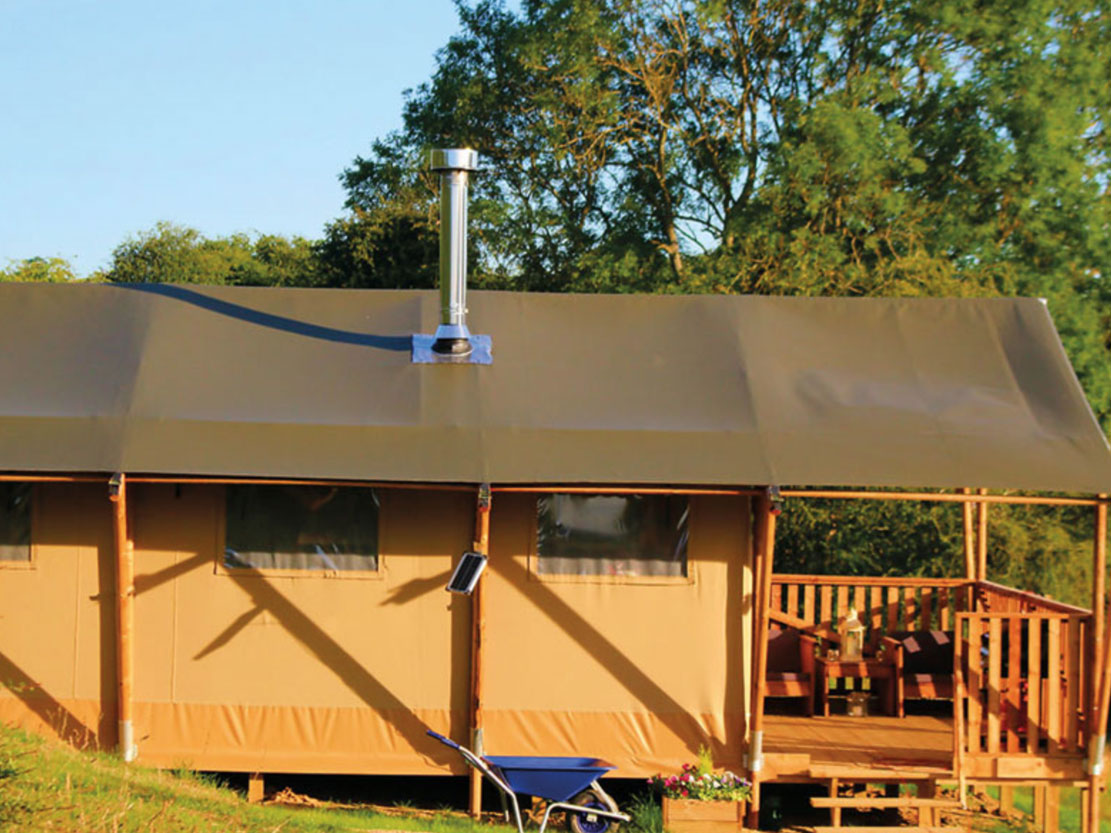 Safari Tent Plus Range outside