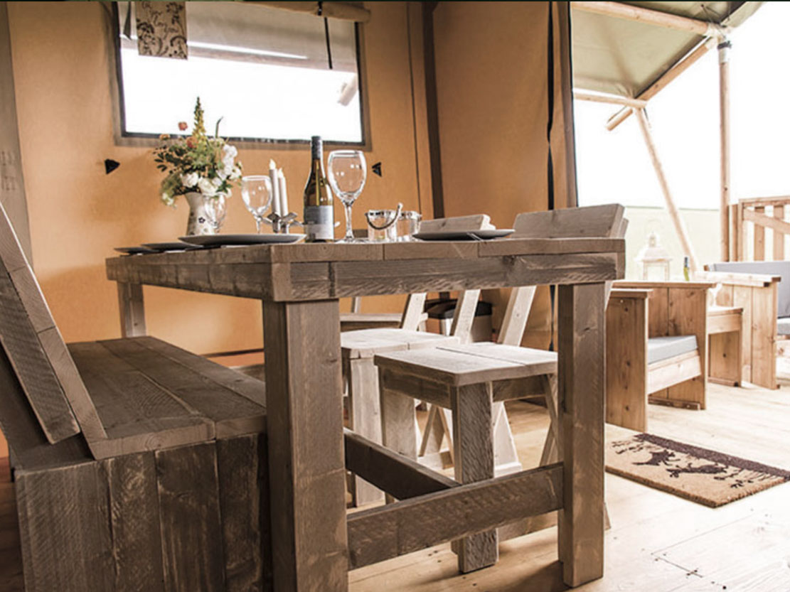 Safari Tent Plus Range dining