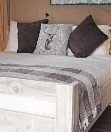 Glamping Double Beds