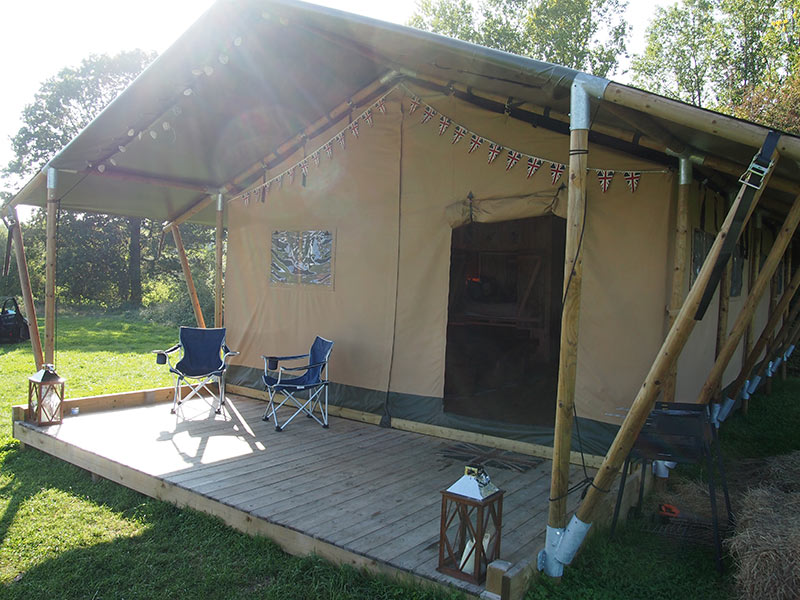 ... can take subsidised holidays this season the choice of accommodation will also include three of our Woody safari tents which were erected this month. & UK Safari Tents for Sale for Landowners u0026 Camping Sites