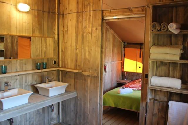 Bathrooms and shower rooms are generally built at the rear of the safari tent. By providing stylish shower rooms endorses luxury gl&ing. & UK Safari Tents for Sale for Landowners u0026 Camping Sites